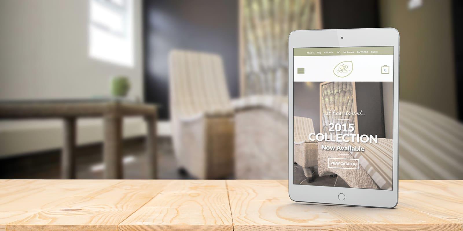 Decor Interiors Website Design
